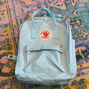 NWOT Fjällräven Kånken Backpack in Sky Blue